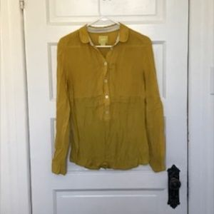 Button-down shirt from Anthropologie